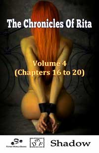 cover design for the book entitled The Chronicles of Rita - Volume 4