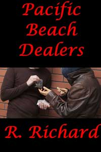 cover design for the book entitled Pacific Beach Dealers