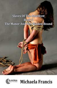 cover design for the book entitled The Manor And The Maiden Bound