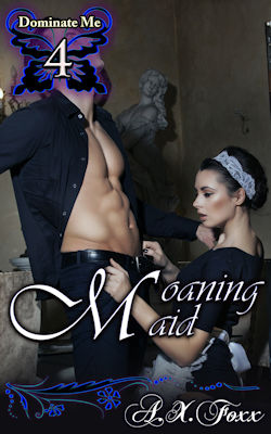 cover design for the book entitled Moaning Maid