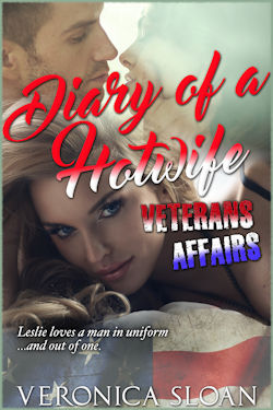cover design for the book entitled Diary of a Hotwife: Veterans Affairs