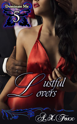 cover design for the book entitled Lustful Lovers