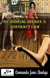 cover design for the book entitled By Judicial Decree 5: Contract Law