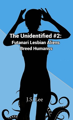 cover design for the book entitled The Unidentified (Book 2)