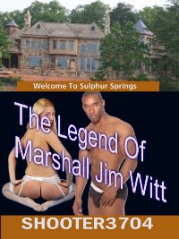 cover design for the book entitled The Legend Of Marshal Jim Witt