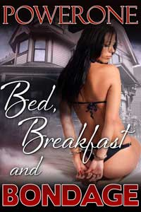 cover design for the book entitled BED, BREAKFAST AND BONDAGE
