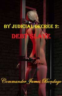 cover design for the book entitled By Judicial Decree 2: Debt Slave