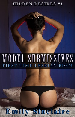 cover design for the book entitled Model Submissives