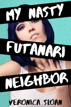 cover design for the book entitled My Nasty Futanari Neighbor