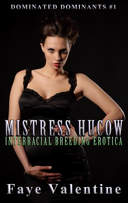 cover design for the book entitled Mistress Hucow