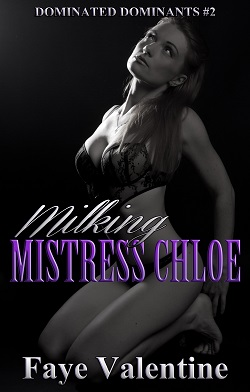 cover design for the book entitled Milking Mistress Chloe