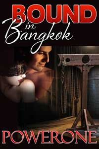 cover design for the book entitled BOUND IN BANGKOK