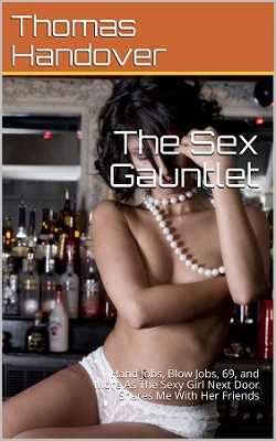 cover design for the book entitled The Sex Gauntlet