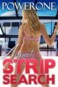 cover design for the book entitled Airport Strip Search