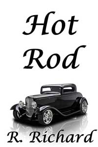 cover design for the book entitled Hot Rod
