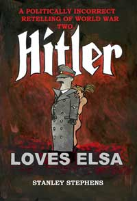 cover design for the book entitled Hitler loves Elsa