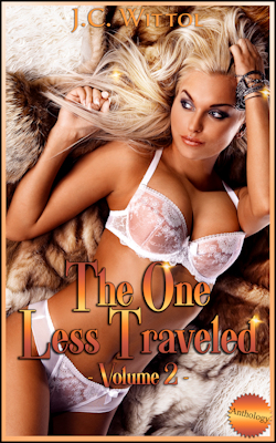 cover design for the book entitled The One Less Traveled: Volumes 6 - 8