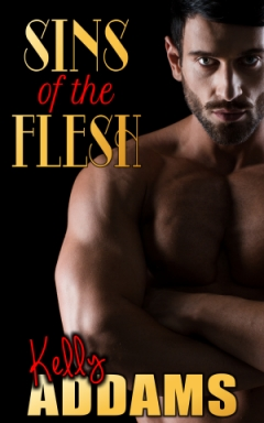 cover design for the book entitled Sins Of The Flesh