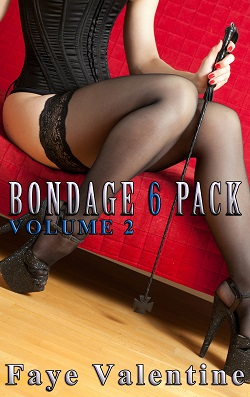 cover design for the book entitled Bondage 6 Pack Vol. 2