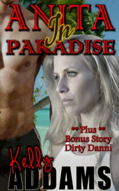 cover design for the book entitled Anita in Paradise