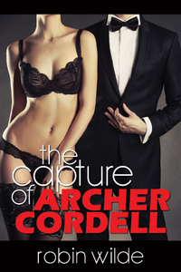 cover design for the book entitled The Capture of Archer Cordell