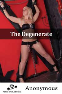 cover design for the book entitled The Degenerate