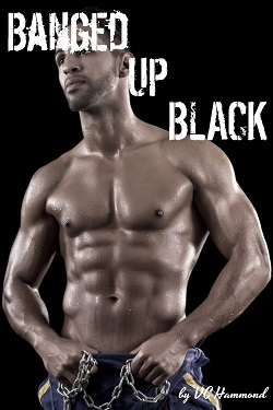 cover design for the book entitled Banged Up Black