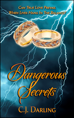 cover design for the book entitled Dangerous Secrets