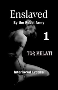 cover design for the book entitled Enslaved by the Rebel Army Part One