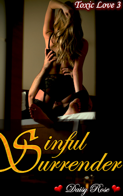 cover design for the book entitled Sinful Surrender