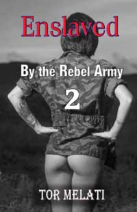 cover design for the book entitled Enslaved by the Rebel Army Part 2