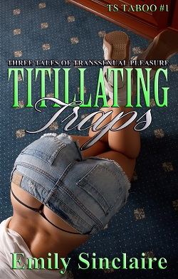 cover design for the book entitled Titillating Traps
