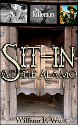 cover design for the book entitled Sit-In At The Alamo