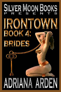 cover design for the book entitled Bride of Irontown