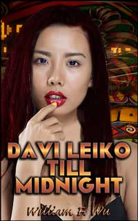 cover design for the book entitled Davi Leiko Till Midnight