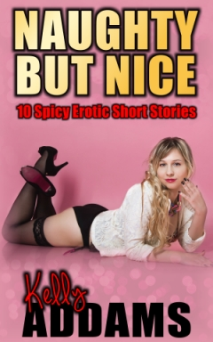 cover design for the book entitled Naughty But Nice