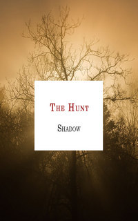 cover design for the book entitled The Hunt
