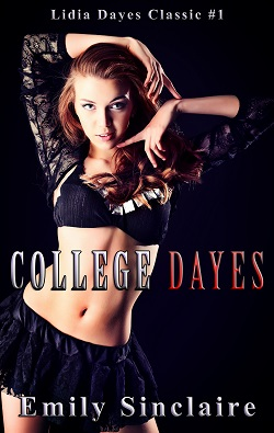 cover design for the book entitled College Dayes