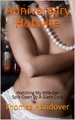 cover design for the book entitled Anniversary Hotwife