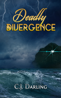 cover design for the book entitled Deadly Divergence