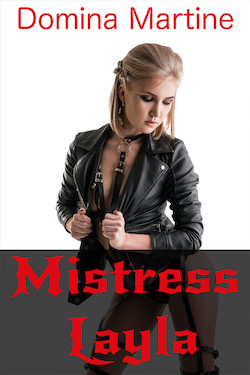 cover design for the book entitled Mistress Layla