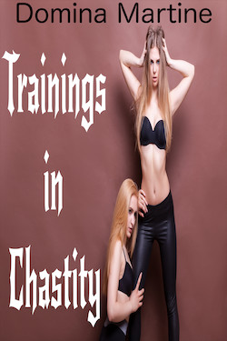 cover design for the book entitled Trainings in Chastity