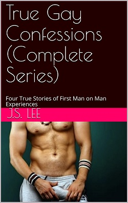 cover design for the book entitled True Gay Confessions (Complete Series)