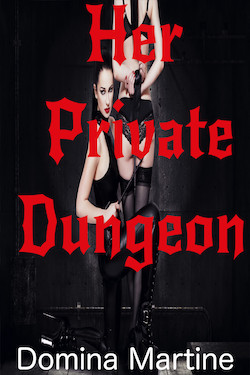 cover design for the book entitled Her Private Dungeon