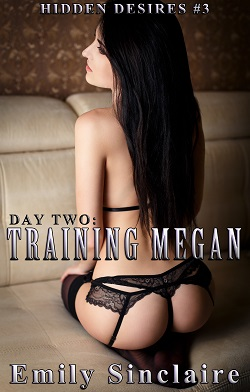 cover design for the book entitled Day Two: Training Megan