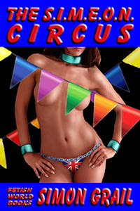 cover design for the book entitled The SIMEON Circus
