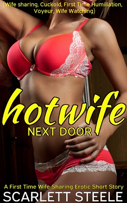 cover design for the book entitled Hotwife Next Door