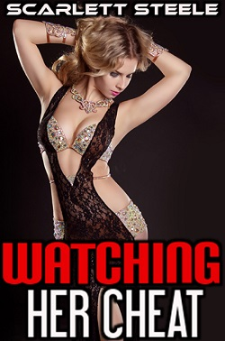 cover design for the book entitled Watching Her Cheat