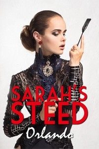 cover design for the book entitled Sarah