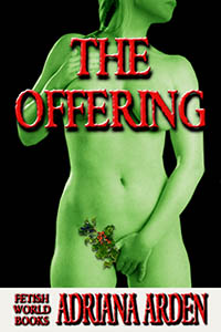 cover design for the book entitled The Offering